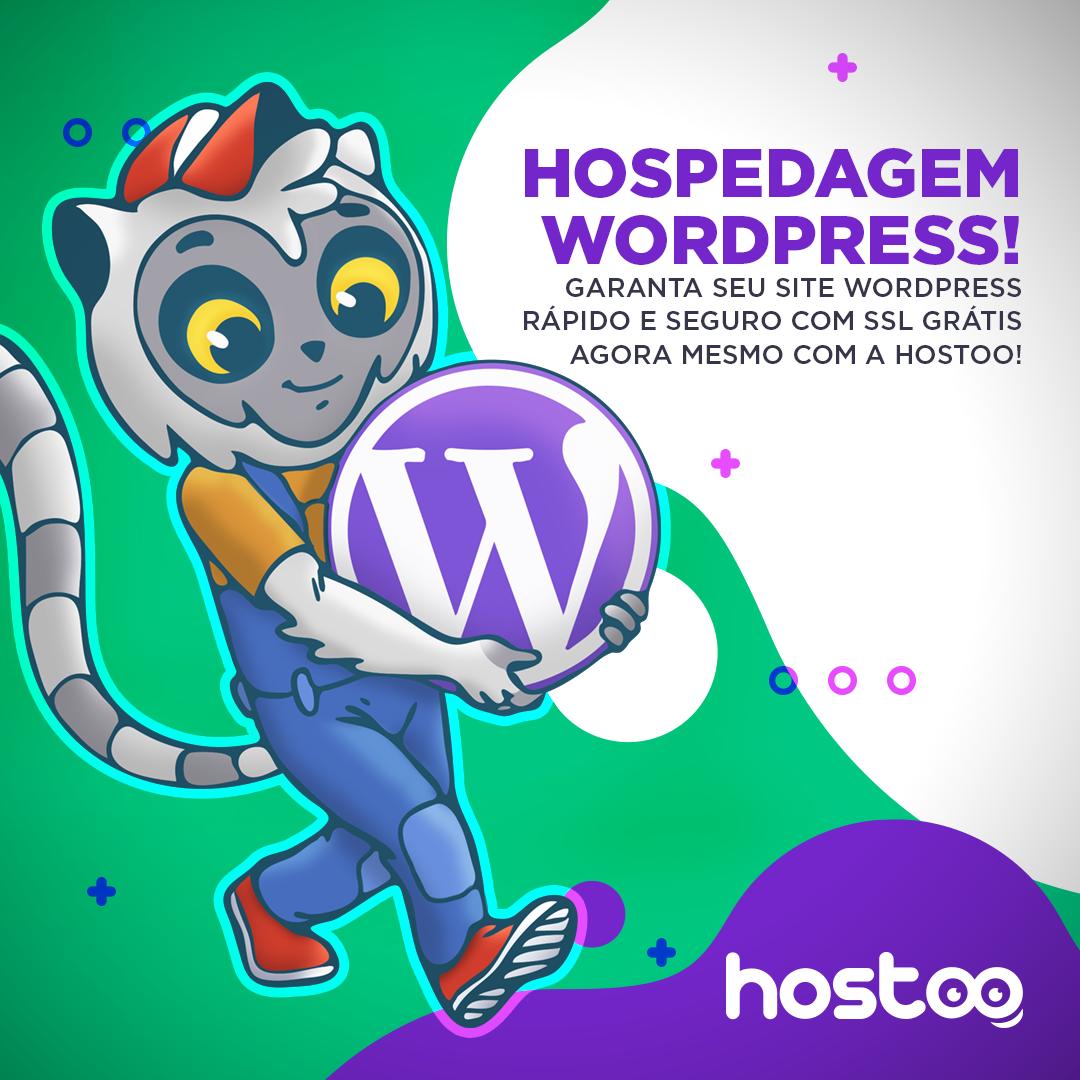 Hostoo Hospedagem Wordpress