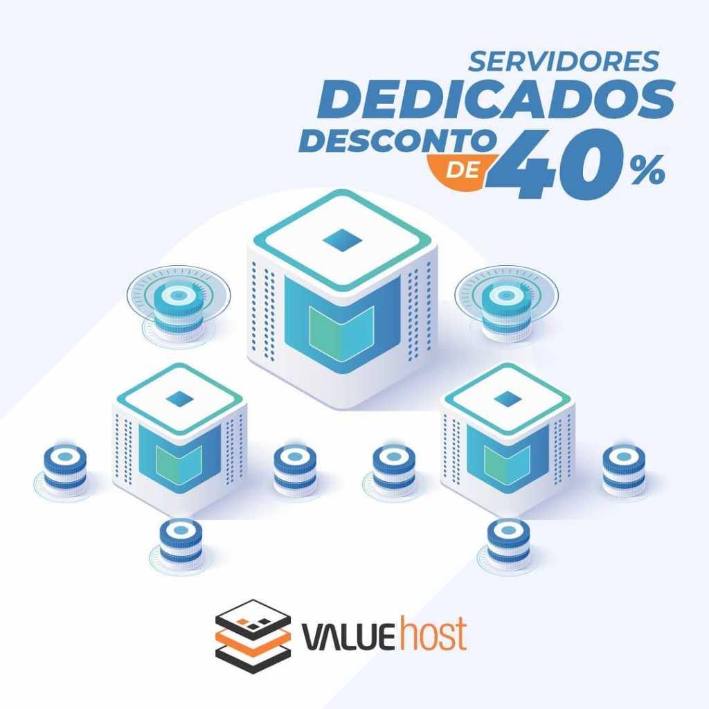 servidores dedicado e vps valuehost 40% de desconto